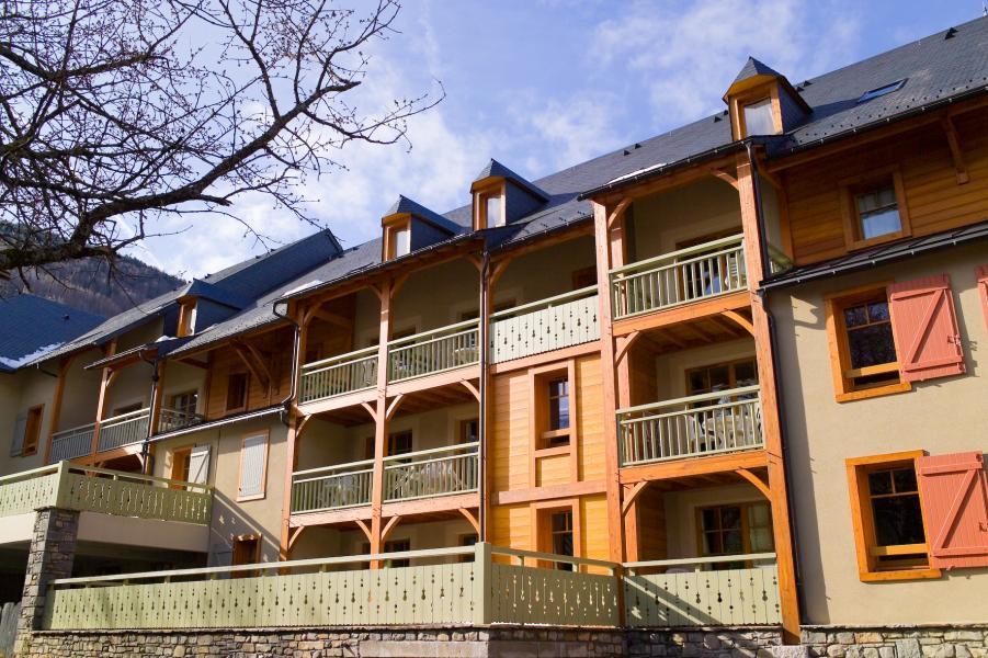 Location au ski Résidence Cami Real - Saint Lary Soulan - Extérieur été