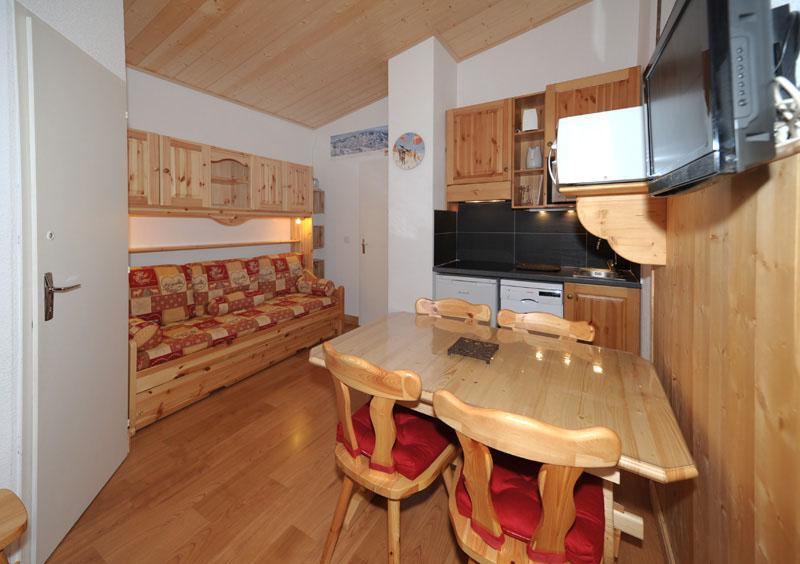 Urlaub in den Bergen Studio Kabine für 4 Personen (081) - Résidence Carlines II - Les Menuires