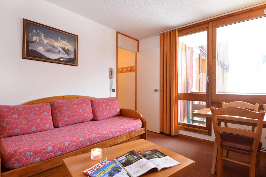 Holiday in mountain resort 2 room apartment 5 people (54) - Résidence Carroley B - La Plagne - Living room