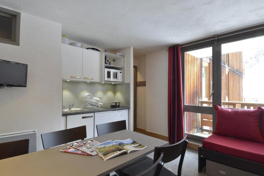 Holiday in mountain resort 2 room apartment 6 people (34) - Résidence Carroley B - La Plagne - Open-plan kitchen