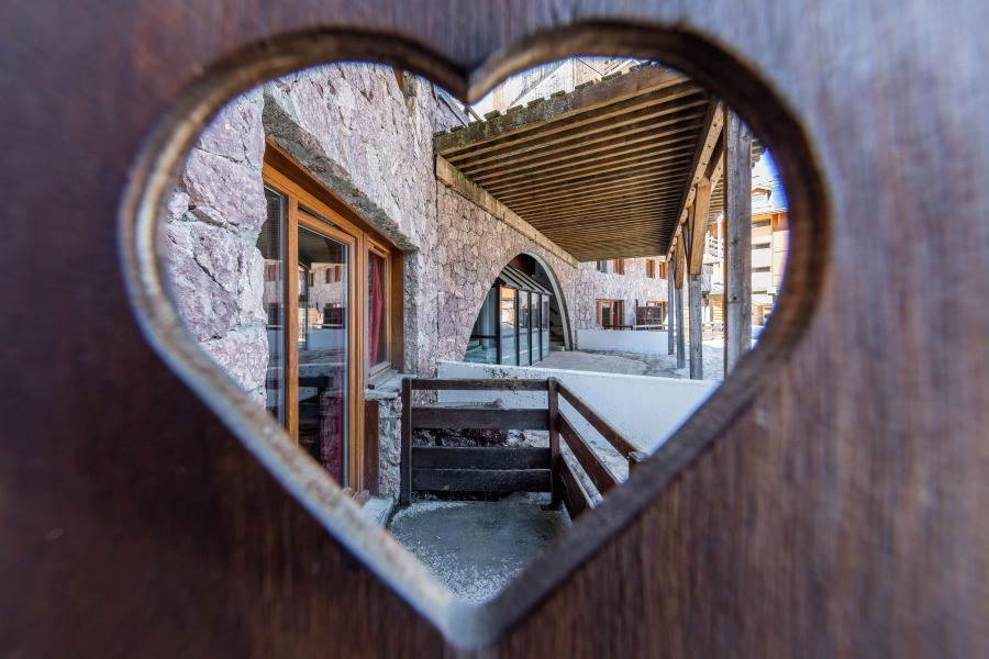 Urlaub in den Bergen Résidence Castor et Pollux - Risoul - Balkon