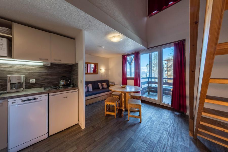 Urlaub in den Bergen Résidence Castor et Pollux - Risoul - Küche