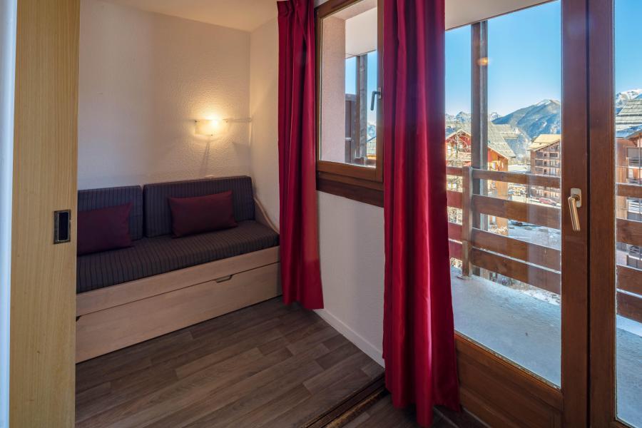 Urlaub in den Bergen Résidence Castor et Pollux - Risoul - Wohnzimmer