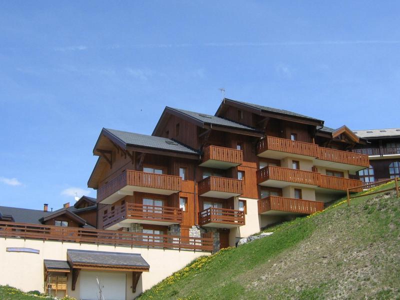 Location au ski Résidence Castors - Peisey-Vallandry - Extérieur été