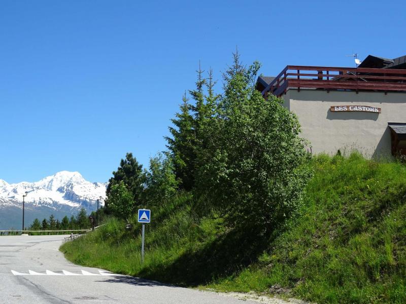 Vacances en montagne Résidence Castors - Peisey-Vallandry - Extérieur été