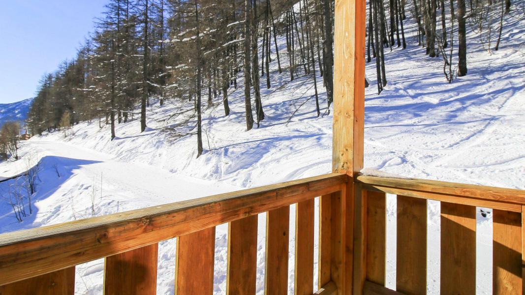 Каникулы в горах Résidence Central Park - Val d'Allos - Балкон