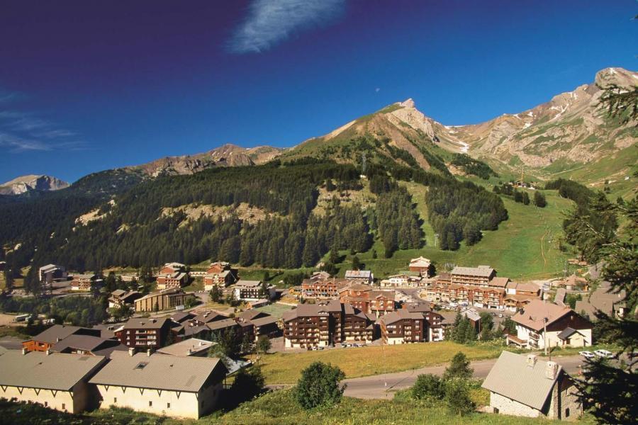 Location au ski Residence Central Park Labellemontagne - Val d'Allos - Extérieur été