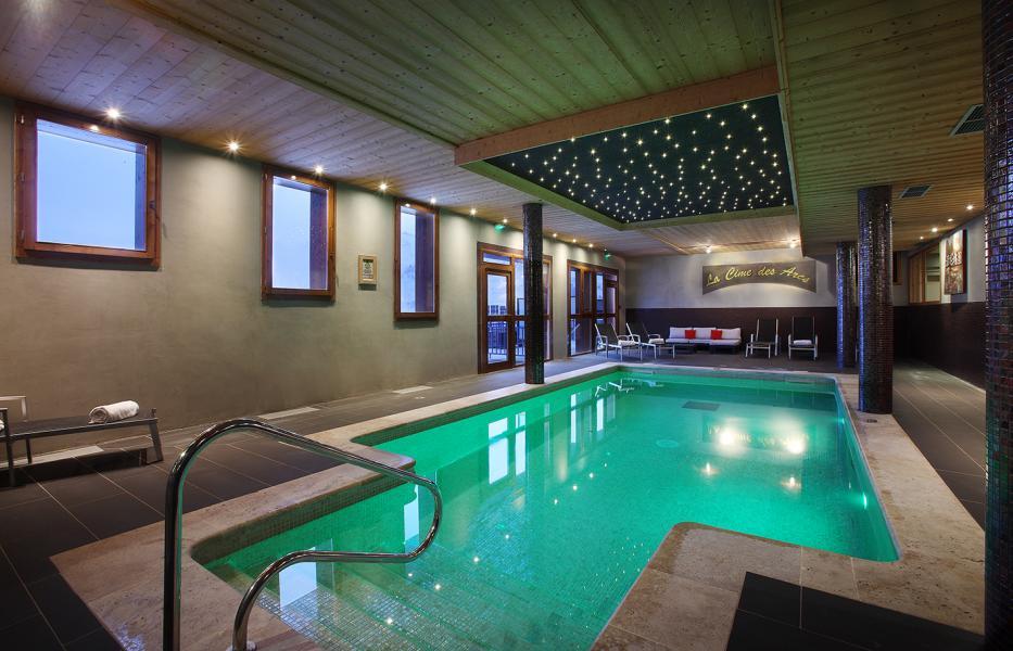 Holiday in mountain resort Résidence Chalet des Neiges Cîme des Arcs - Les Arcs