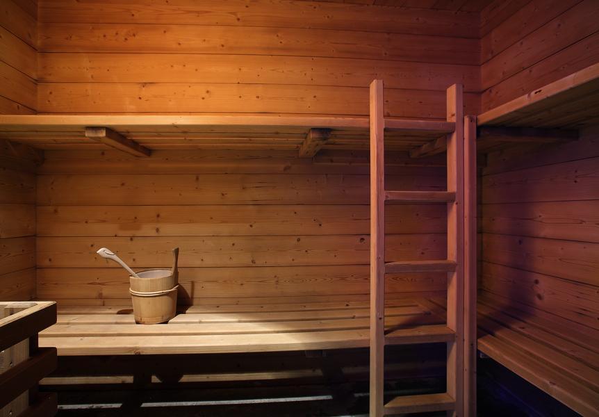 Holiday in mountain resort Résidence Chalet des Neiges Cîme des Arcs - Les Arcs - Sauna