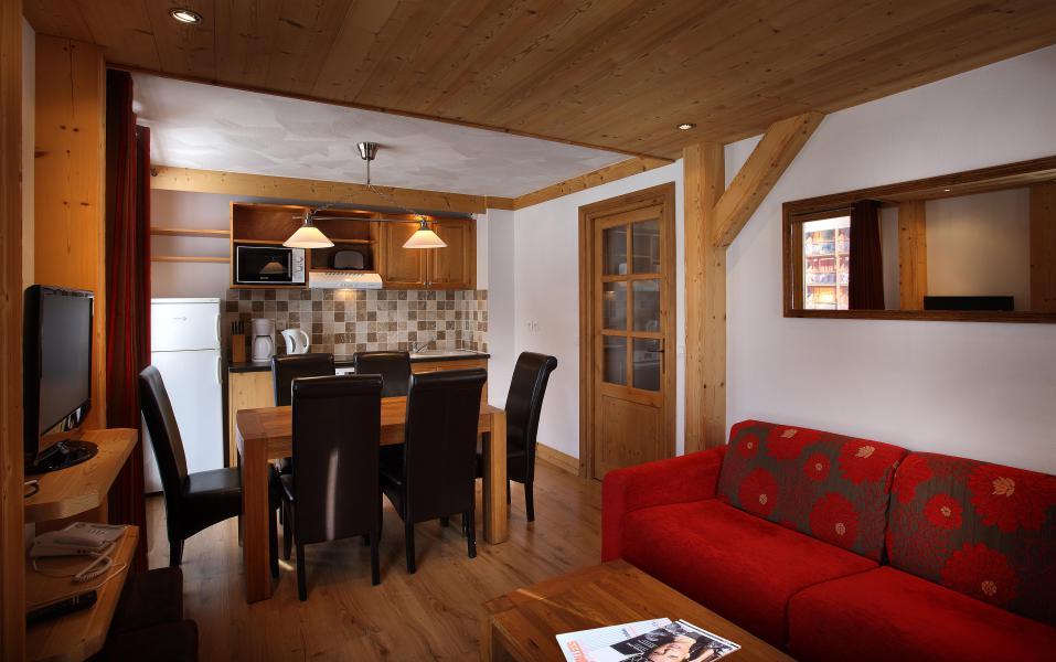 Urlaub in den Bergen Résidence Chalet des Neiges Cîme des Arcs - Les Arcs - Wohnzimmer