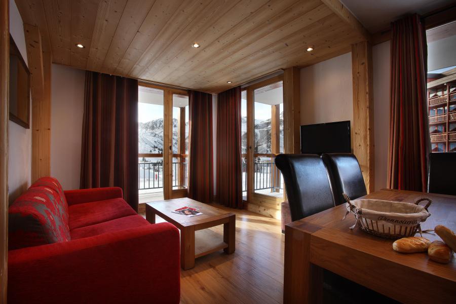 Vakantie in de bergen Résidence Chalet des Neiges Cîme des Arcs - Les Arcs - Woonkamer