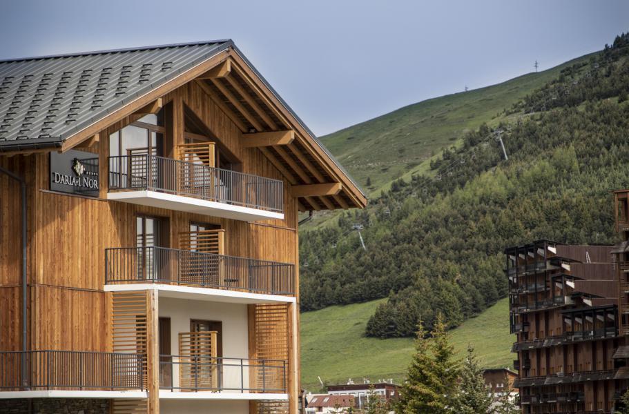 Location au ski Résidence Chalet des Neiges Daria-I Nor - Alpe d'Huez - Extérieur été