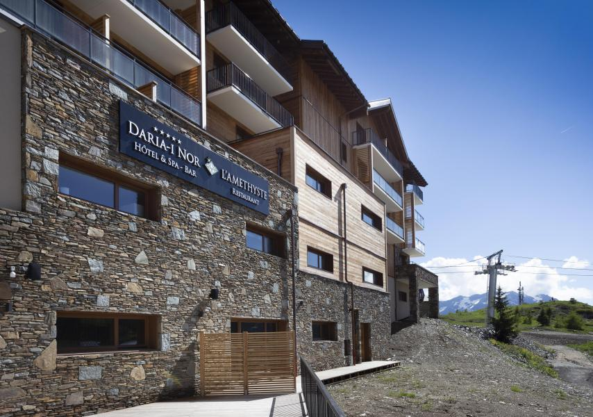 Wakacje w górach Résidence Chalet des Neiges Daria-I Nor - Alpe d'Huez - Na zewnątrz latem