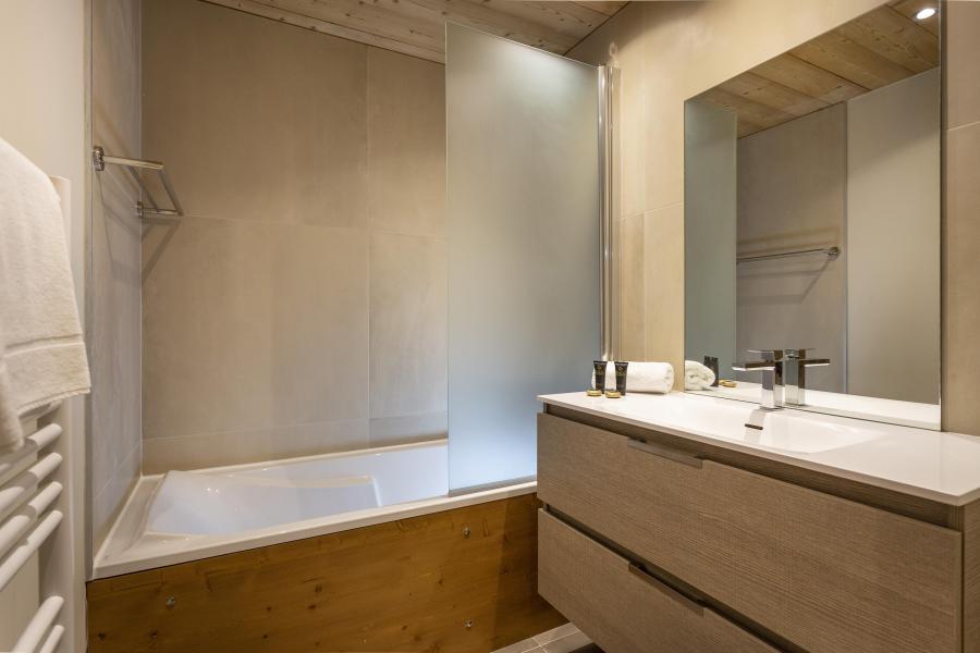 Urlaub in den Bergen Résidence Chalet des Neiges Daria-I Nor - Alpe d'Huez - Badezimmer