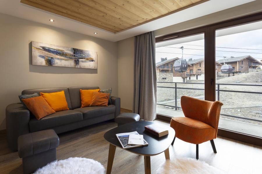 Urlaub in den Bergen Résidence Chalet des Neiges Daria-I Nor - Alpe d'Huez - Kleines Wohnzimmer