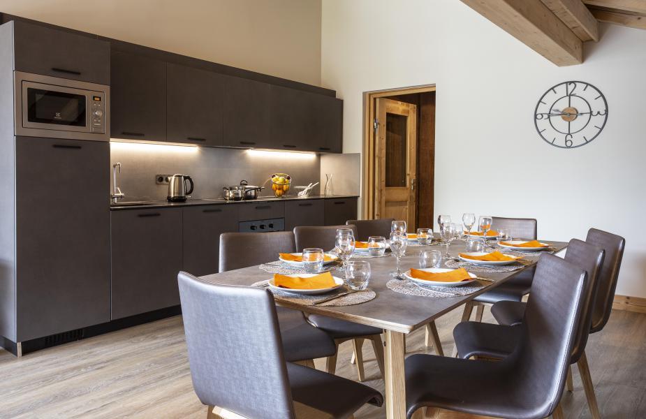 Wakacje w górach Résidence Chalet des Neiges Daria-I Nor - Alpe d'Huez - Kuchnia otwarta