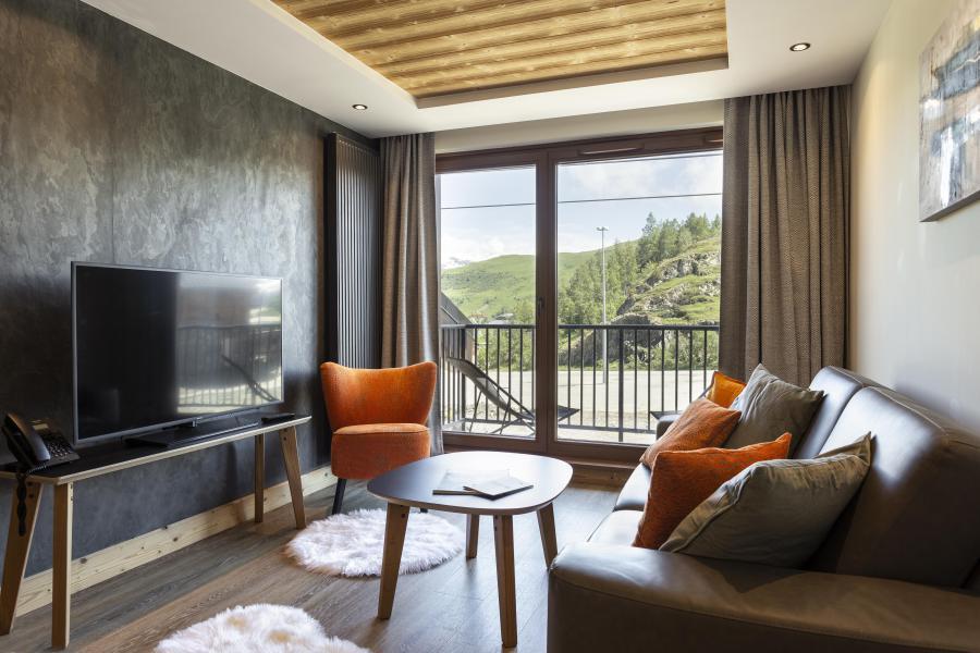 Wakacje w górach Résidence Chalet des Neiges Daria-I Nor - Alpe d'Huez - Salon