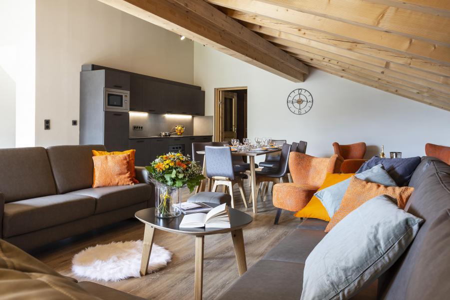 Urlaub in den Bergen Résidence Chalet des Neiges Daria-I Nor - Alpe d'Huez - Wohnzimmer