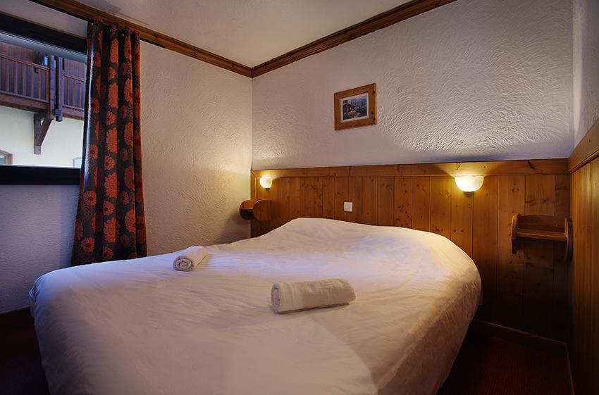 Urlaub in den Bergen Résidence Chalet des Neiges Hermine - Val Thorens - Schlafzimmer