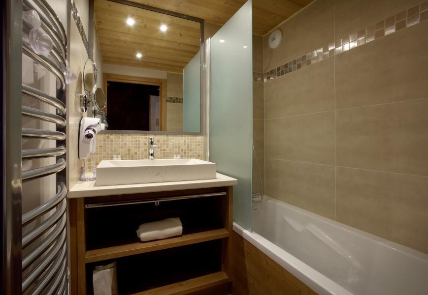 Urlaub in den Bergen Résidence Chalet des Neiges la Source des Arcs - Les Arcs - Badezimmer