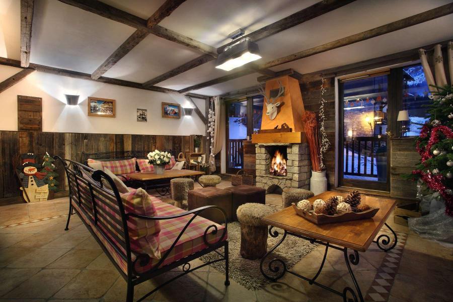 Wakacje w górach Résidence Chalet des Neiges - Oz en Oisans - Pokój gościnny