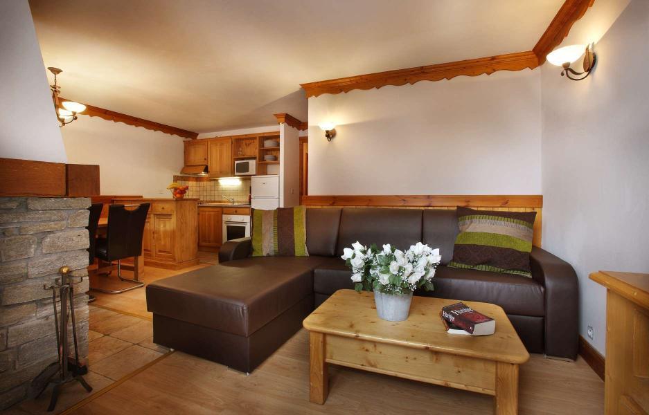 Urlaub in den Bergen Résidence Chalet des Neiges - Oz en Oisans - Sofa