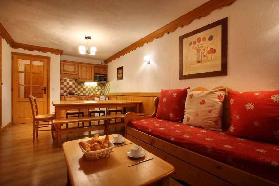 Urlaub in den Bergen Résidence Chalet des Neiges - Oz en Oisans - Wohnzimmer