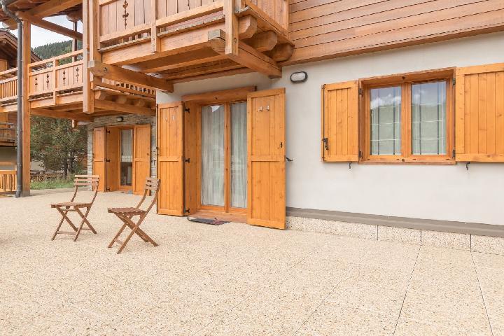 Vacaciones en montaña Apartamento 3 piezas para 4 personas (PA1001) - Résidence Chalet du Bois du Suffin K10 - Montgenèvre - Verano