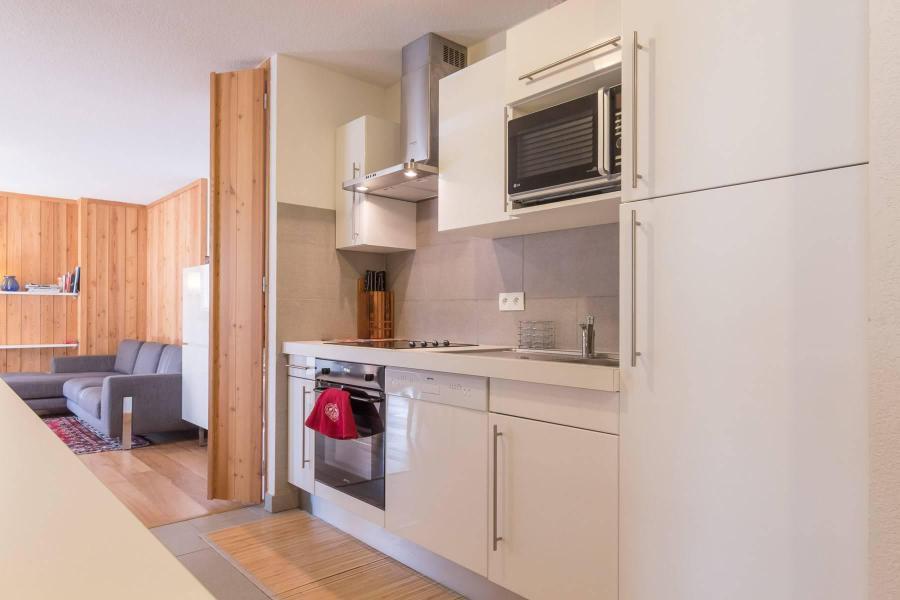 Vacaciones en montaña Apartamento 3 piezas para 4 personas (PA1001) - Résidence Chalet du Bois du Suffin K10 - Montgenèvre - Cocina