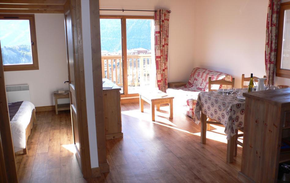 Holiday in mountain resort Résidence Chalet le Clos d'Aussois - Aussois - Living room