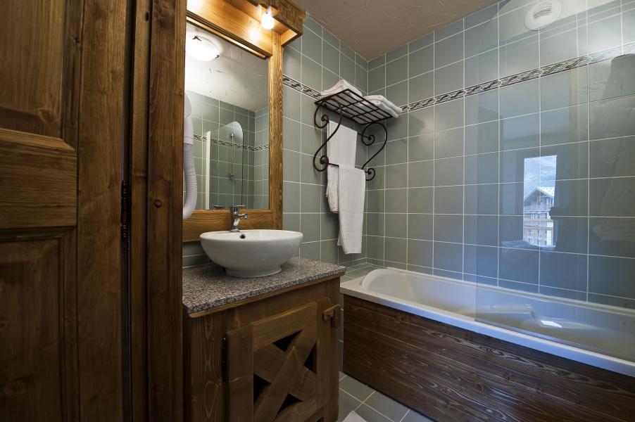 Vacances en montagne Résidence Chalet le Refuge la Rosière - La Rosière - Salle de bains