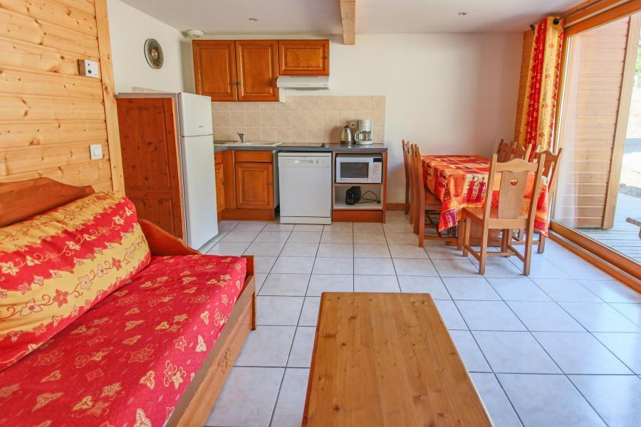 Urlaub in den Bergen Résidence Chalets Margot - Superdévoluy - Offene Küche