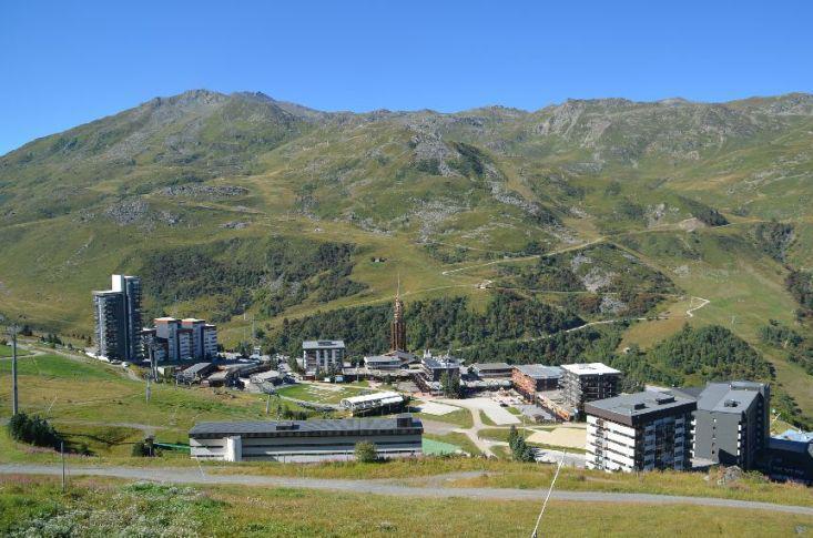 Location au ski Appartement triplex 3 pièces 7 personnes (835) - Résidence Challe - Les Menuires - Extérieur été