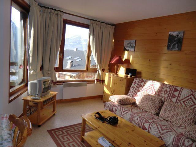 Vacaciones en montaña Estudio -espacio montaña- para 4 personas - Résidence Chambron - Châtel - Alojamiento