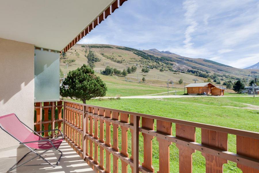 Location au ski Studio coin montagne 4 personnes - Résidence Champamé - Les 2 Alpes - Balcon