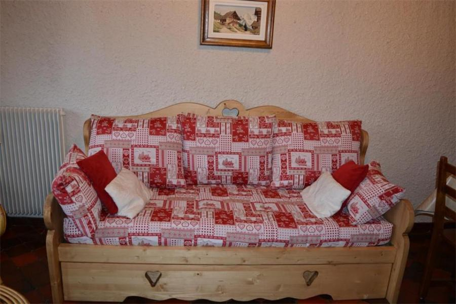 Holiday in mountain resort Studio cabin 4 people (5E) - Résidence Chanteneige - Le Grand Bornand