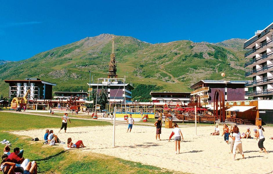 Location au ski Résidence Chanteneige Croisette - Les Menuires - Extérieur été