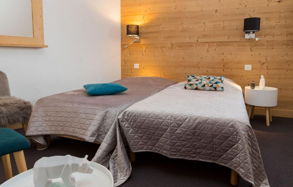 Holiday in mountain resort Résidence Chanteneige Croisette - Les Menuires - Bedroom
