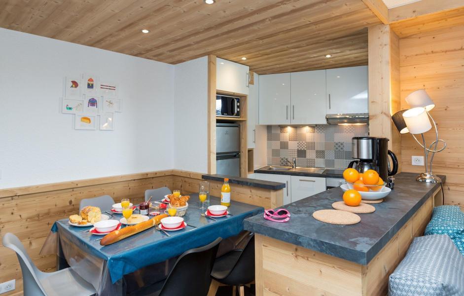 Vacances en montagne Résidence Chanteneige Croisette - Les Menuires - Salle à manger