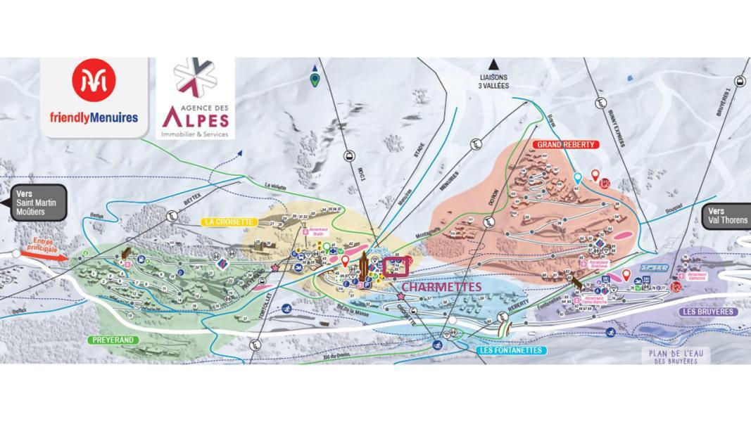 Vacances en montagne Résidence Charmette - Les Menuires