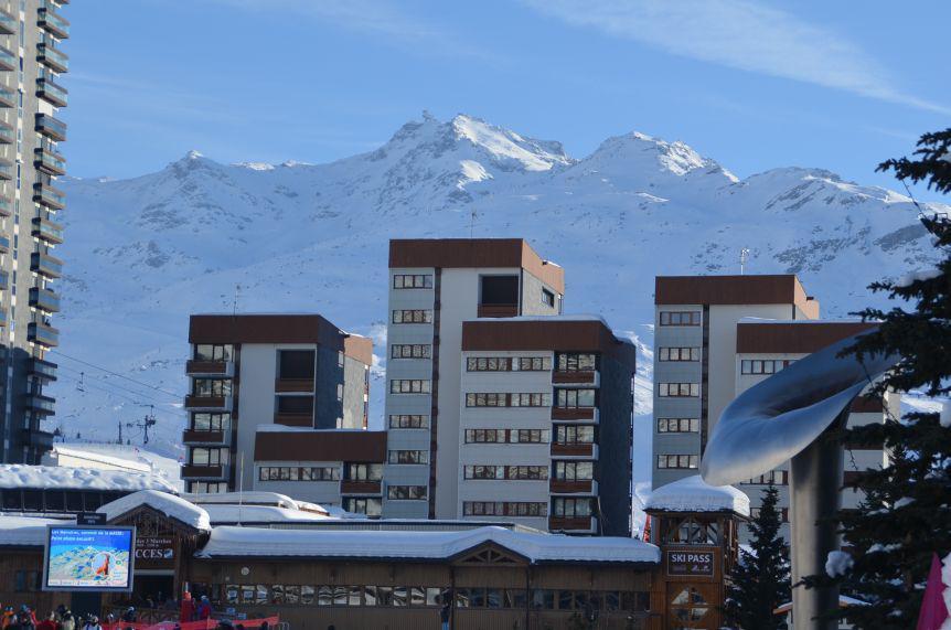 Location au ski Résidence Charmette - Les Menuires - Extérieur été