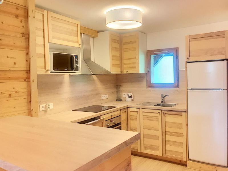 Wakacje w górach Apartament duplex 3 pokojowy 4 osób (A) - Résidence Charmettes - Saint Martin de Belleville - Aneks kuchenny