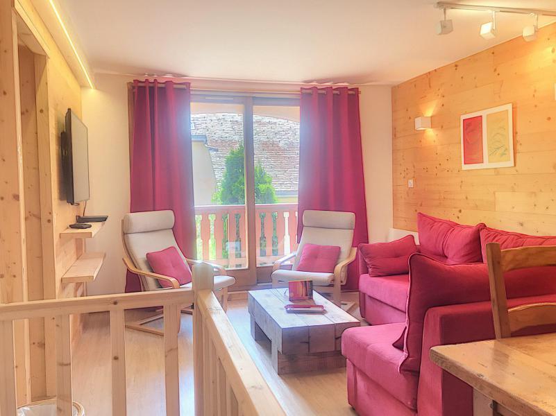 Wakacje w górach Apartament duplex 3 pokojowy 4 osób (A) - Résidence Charmettes - Saint Martin de Belleville - Pokój gościnny
