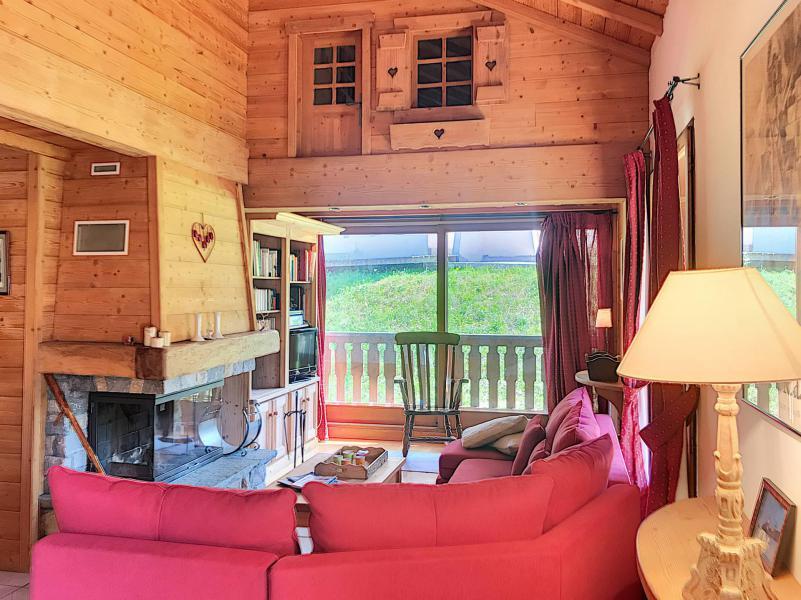 Wakacje w górach Apartament duplex 5 pokojowy 10 osób (C) - Résidence Charmettes - Saint Martin de Belleville - Pokój gościnny