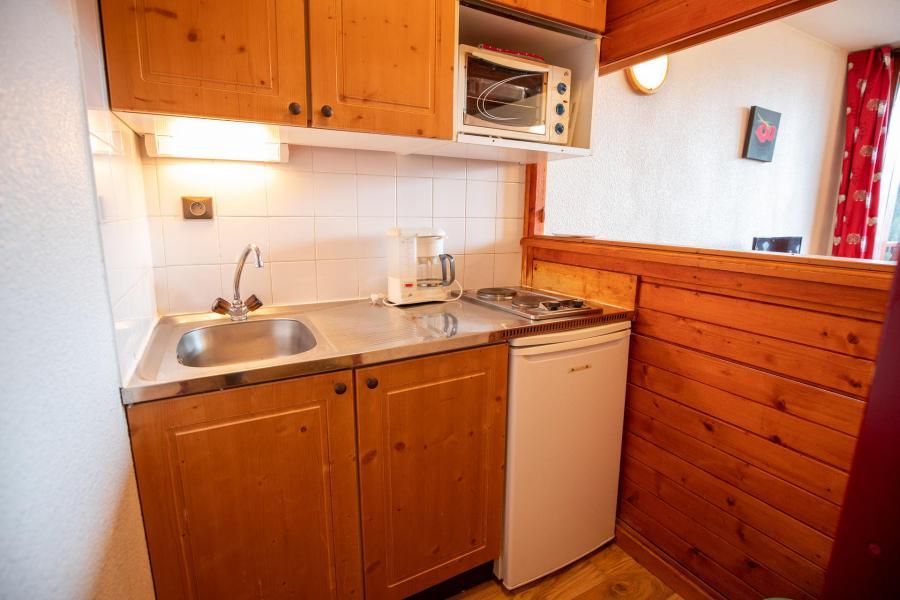 Holiday in mountain resort Studio sleeping corner 2 people (38) - Résidence Chavière - Valfréjus