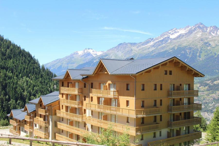 Vakantie in de bergen Résidence Cheval Blanc - Valfréjus - Buiten zomer