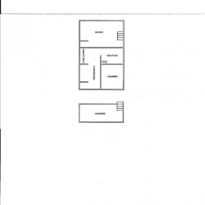Wakacje w górach Apartament 2 pokojowy 4 osób (G402) - Résidence Cheval Blanc - Valmorel