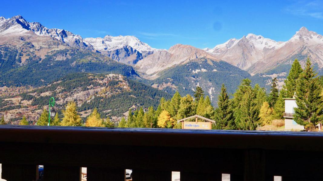 Vakantie in de bergen Appartement 2 kamers 4 personen (10) - Résidence Cheval Blanc - Valfréjus - Buiten zomer