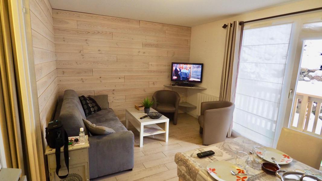 Vacances en montagne Appartement 2 pièces cabine 6 personnes (105) - Résidence Cheval Blanc - Valfréjus - Canapé
