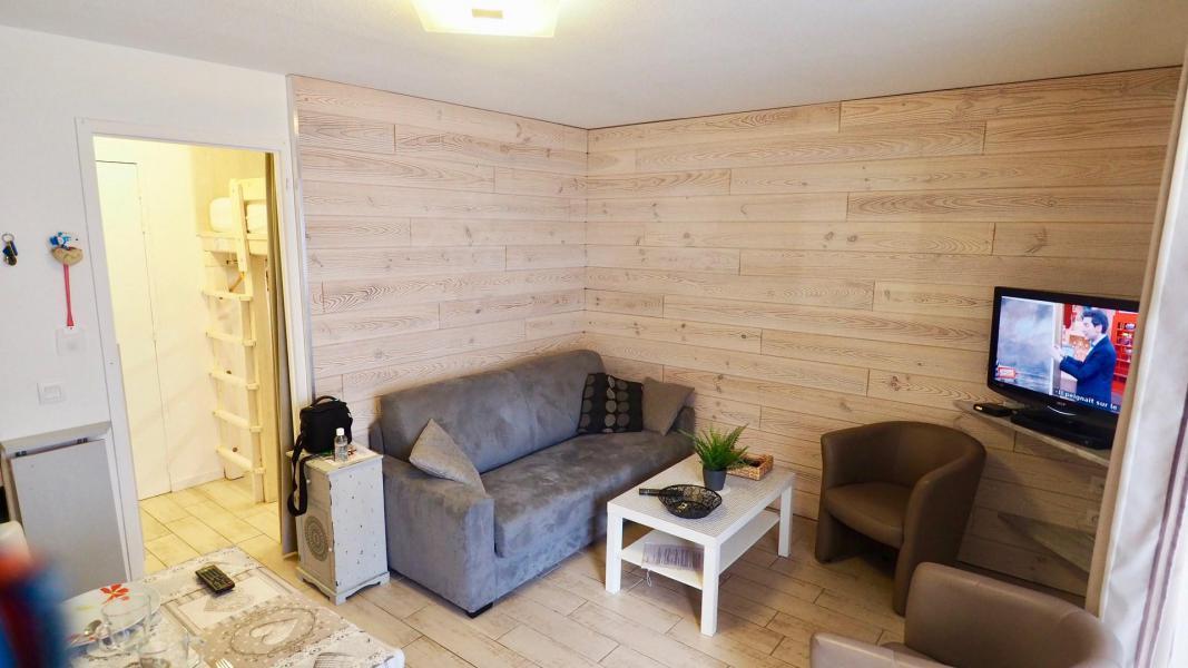 Vacances en montagne Appartement 2 pièces cabine 6 personnes (105) - Résidence Cheval Blanc - Valfréjus - Séjour
